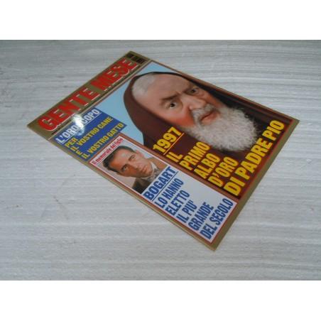 Rivista Gente Mese n° 1 gennaio 1997 Il primo albo d'oro di Padre Pio