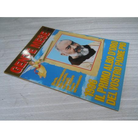 Rivista Gente Mese n° 1 gennaio 1996 Il primo albo d'oro di Padre Pio