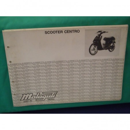 Manuale scheda tecnica catalogo dei ricambi malaguti scooter centro