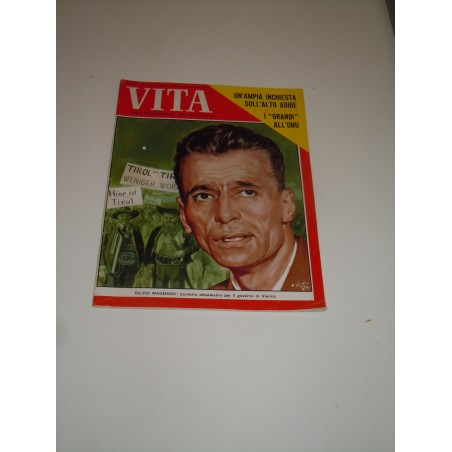 Rivista Vita settimanale 6 ottobre 1960 Magnago inchiesta Alto Adige