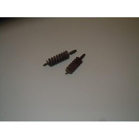 Coppia di scovolini in metallo per arma militare fucili