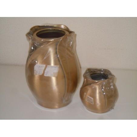 Lasef vaso portafiore lampada bronzo serie memory arte sacra