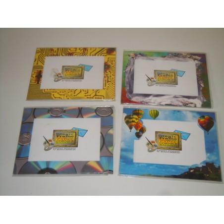 Cornice magic frame 4 pezzi in cartoncino per foto max 18.5x14