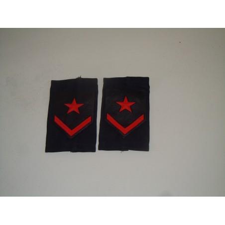Distintivo fregio tubolare marina militare Furiere coppia esercito