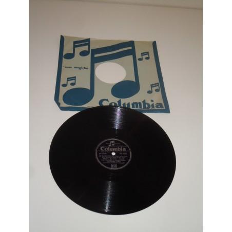 Disco Lp 78' Columbia Leonora Carli Se tu sei con me Eternamente