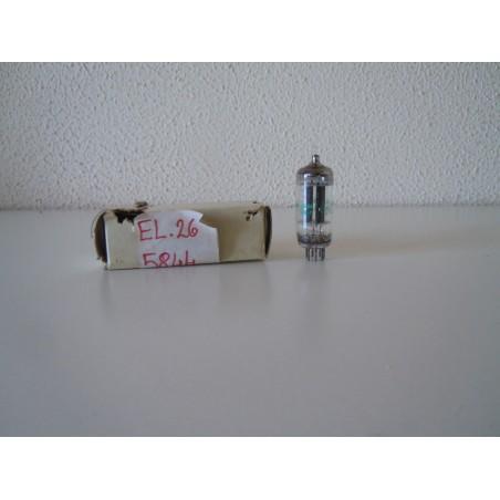 Valvola elettronica Jan 5844 Valvo termoionica nuova