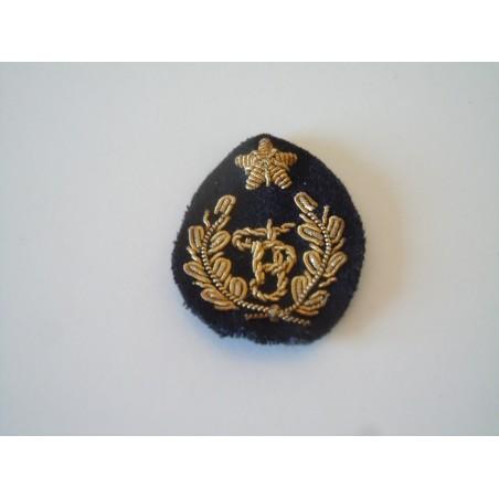 Patch fregio polizia femminile canuttiglia oro e lana militare esercito