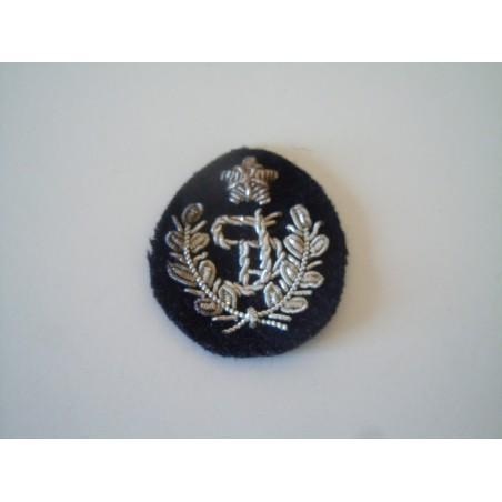 Patch fregio polizia femminile canuttiglia argento e lana militare esercito