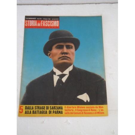 Rivista Storia del fascismo rassegna fotografica 15 giugno 1960 Mussolini