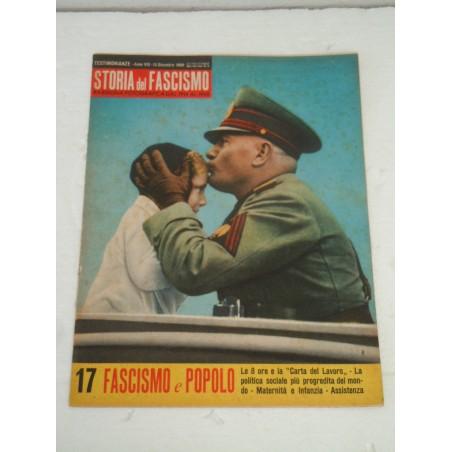 Rivista Storia del fascismo rassegna fotografica 15 dicembre 1960 Mussolini