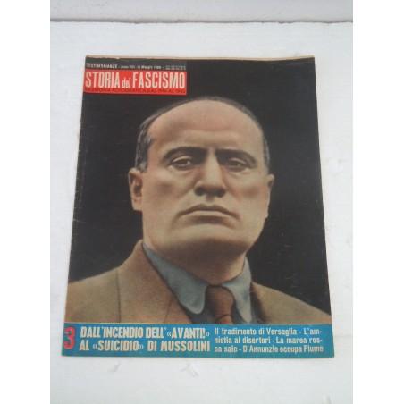 Rivista Storia del fascismo rassegna fotografica 15 maggio 1960 Mussolini