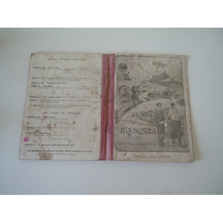 Vita nostra Deidda Francesco Sillabario letture scuole elementari 1913