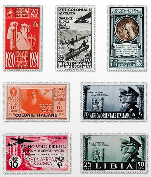 francobolli da collezione