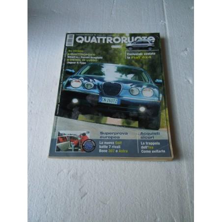 Rivista Quattroruote n° 584 giugno 2004