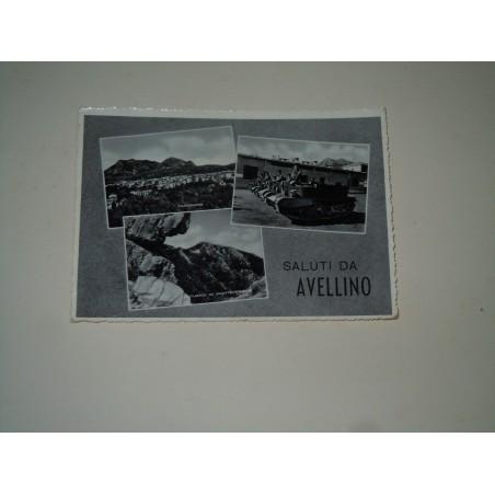 Cartolina Avellino a vedutine viaggiata