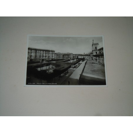 Cartolina Avellino Piazza della Rivoluzione non viaggiata