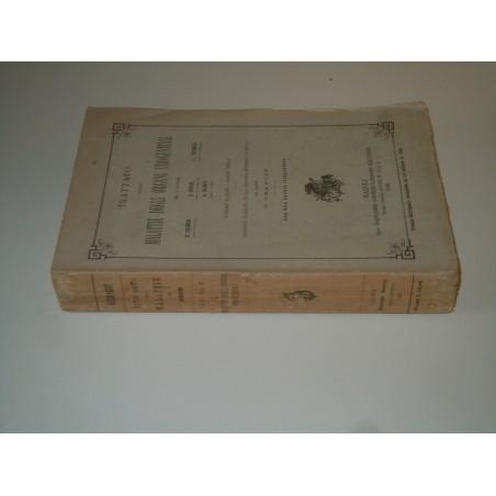 Trattato delle malattie degli organi uro genitali Jovene 1896 medicina