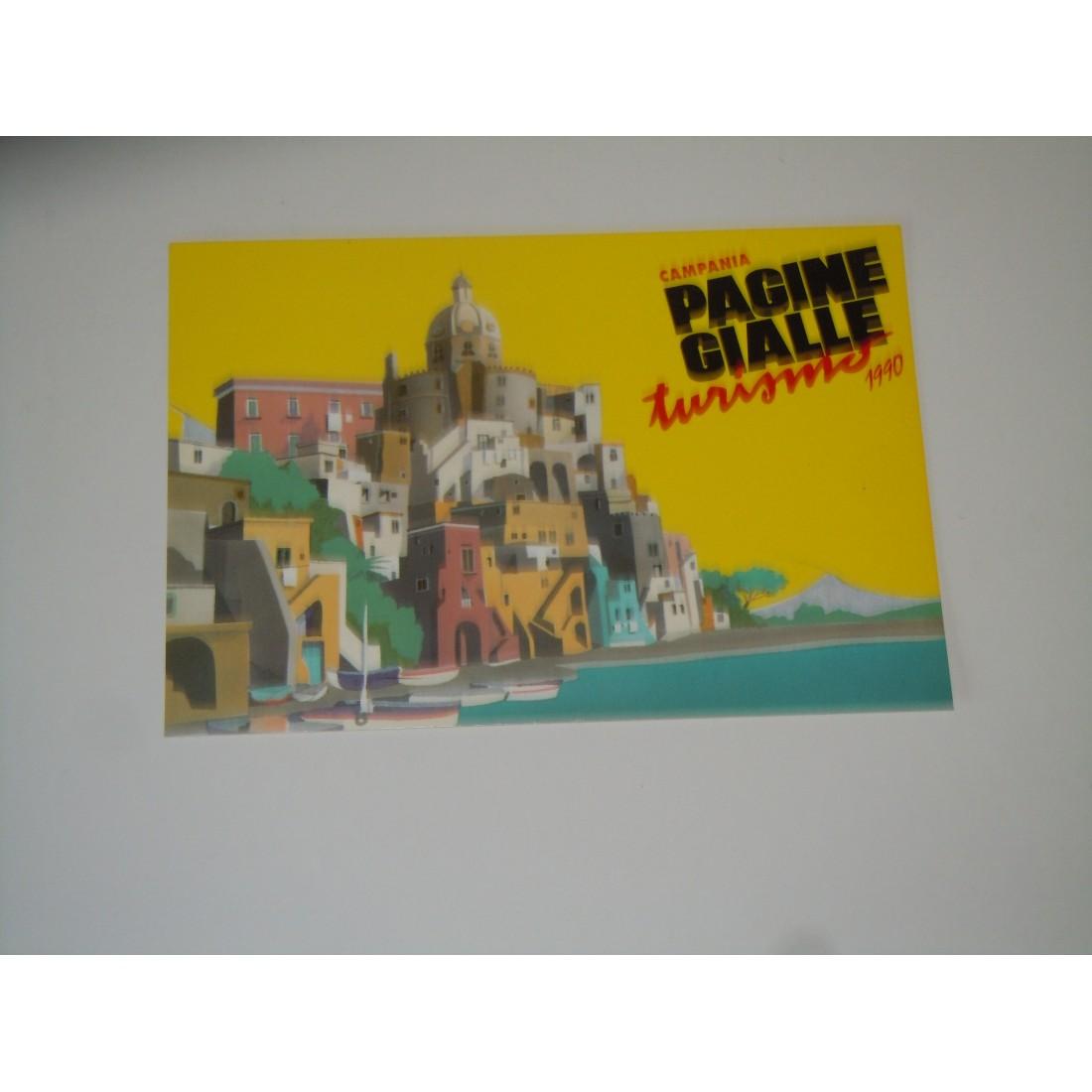 Cartolina seat pagine gialle turismo 1990 Campania l'Isola ...