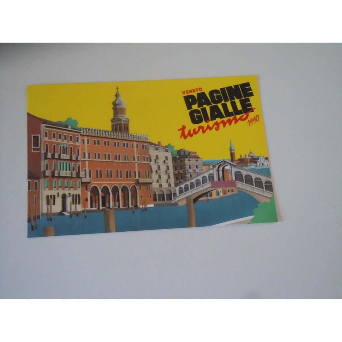 Cartolina seat pagine gialle turismo 1990 Veneto Isola di ...
