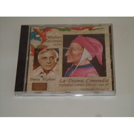 Cd La divina commedia Dante inferno canto XVI/XX recitata Maestosi