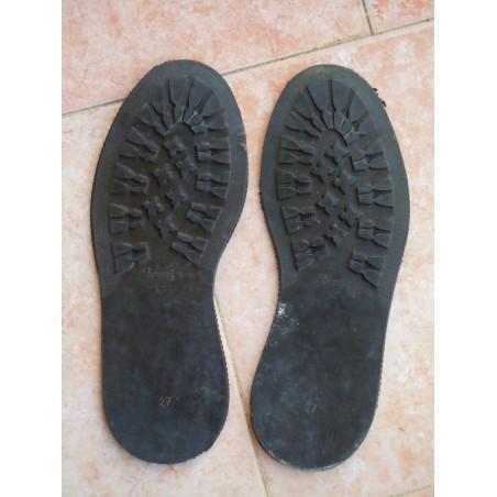 Suole in gomma per anfibi militari scarponcini montagna 43