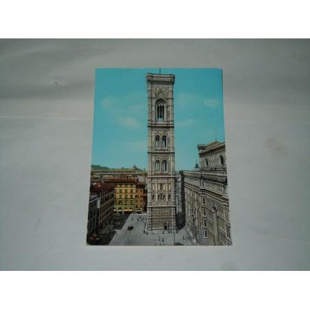 Cartolina Firenze il campanile viaggiata
