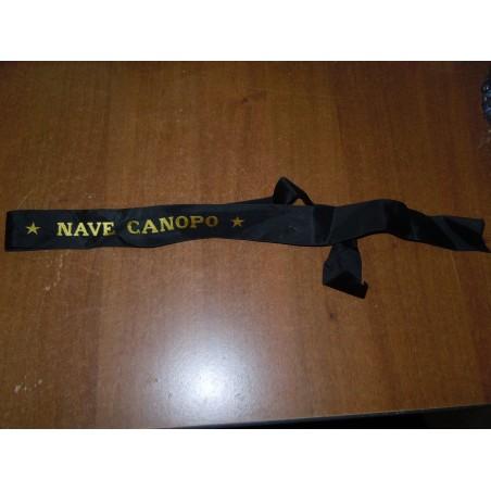 Marina militare nastro in seta canopo esercito militaria