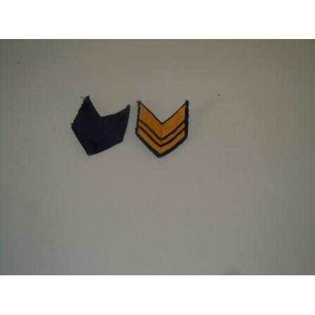 Distintivo fregio marina militare galloni di grado coppia esercito