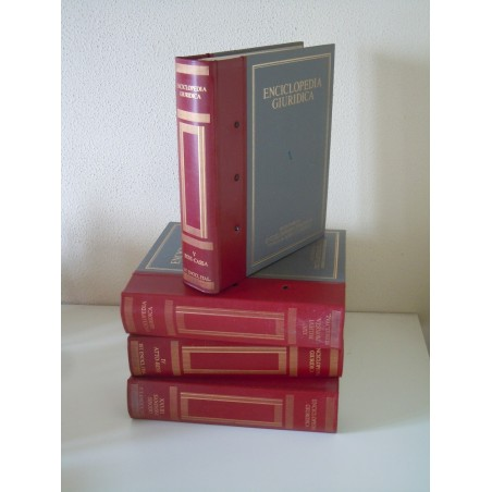 Enciclopedia giuridica volume XXXII istituto italiana Treccani