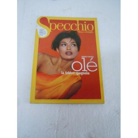 Rivista Specchio la Stampa n 54 1/2/1997 Lorena Forteza