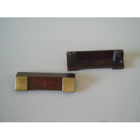 Pomo maniglia in ottone bronzato in stile per mobili cassetti