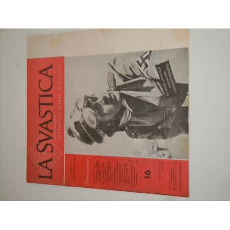 Rivista Fascista La Svastica copia riproduzione del 29 settembre 1942