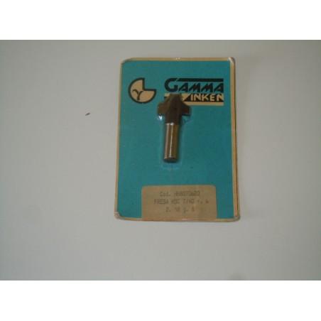 Fresa per legno gamma Zinken HH8070620 HSC 7/40 r 6 D 18 g 8