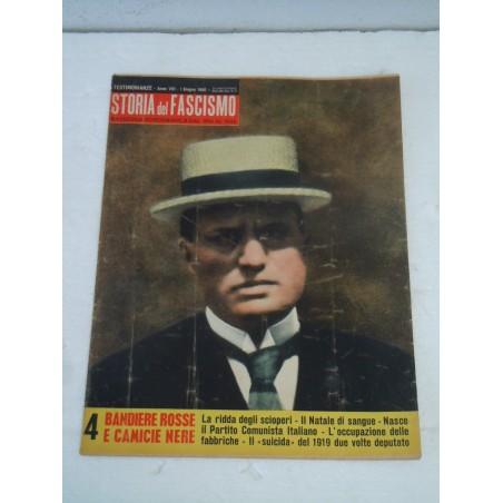Rivista Storia del fascismo rassegna fotografica 1 giugno 1960 Mussolini