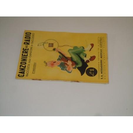 Canzoniere della Radio 2 fascicolo 1940 edizione Campi
