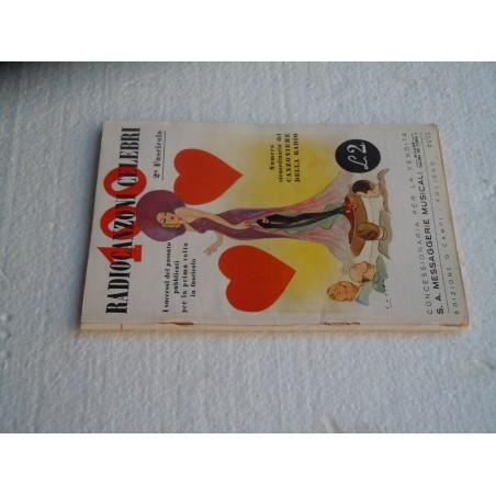 100 Radiocanzoni celebri 2 fascicolo 1940 edizione Campi