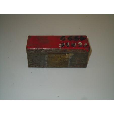 Vecchia scatola in latta ferrovie dello stato FSE 636174