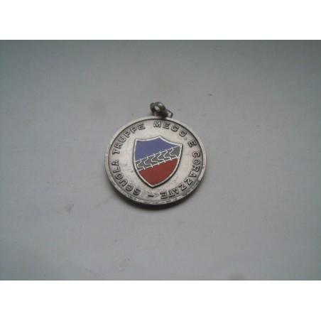 Medaglia argento scuola truppe meccaniche e corazzate esercito