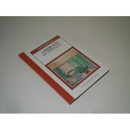 Ambienti del novecento documenti d' antiquariato De Agostini 1985