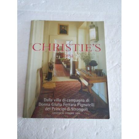 Christie's Roma dalla villa di campagna donna Giulia Ferrara Pignatelli