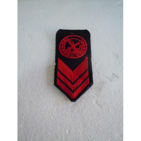 Fregio incursori marina militare coppia in lana nero e rosso