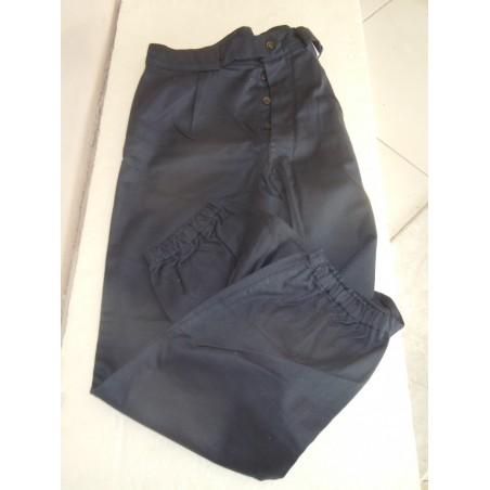 Pantalone da lavoro militare esercito blu taglia 4