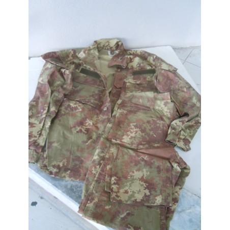 Divisa uniforme mimetica militare esercito taglia 6