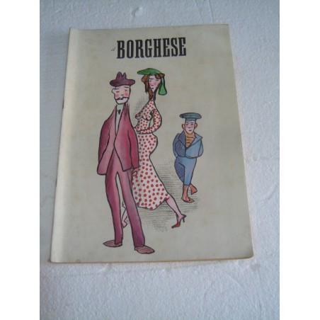 Rivista Il borghese n° 25 19 giugno 1958